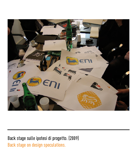 Eni - Agip - Back stage ipotesi progetto