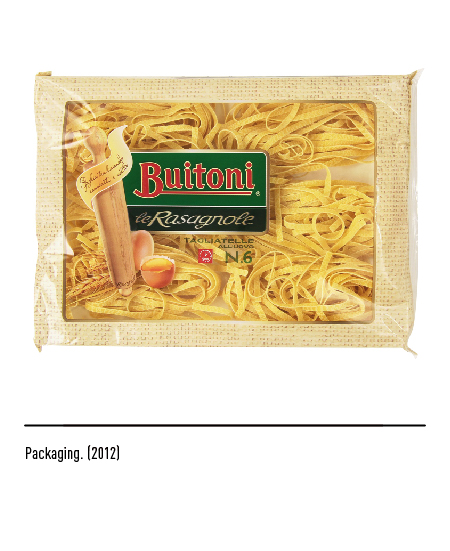Buitoni - Packaging