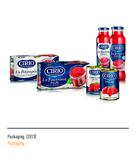 Cirio - Packaging