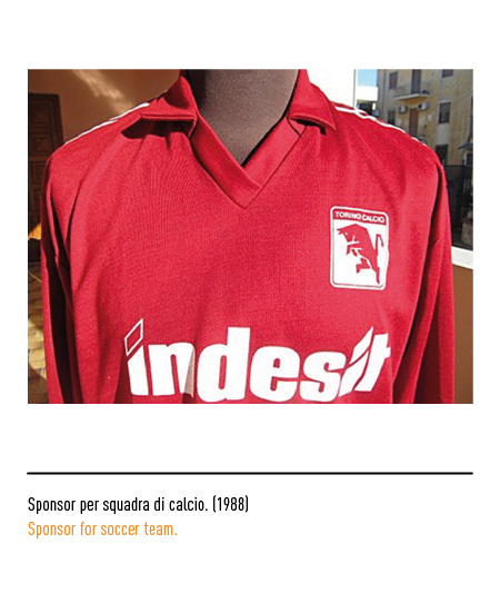 Indesit - Sponsor calcio