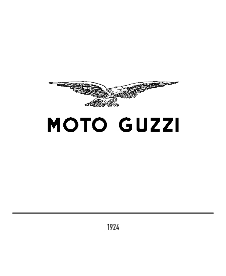 the moto guzzi logo history and evolution. Black Bedroom Furniture Sets. Home Design Ideas