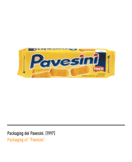 Pavesi - Packaging Pavesini