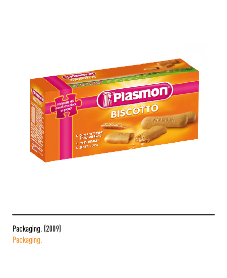 Plasmon - Packaging 2009