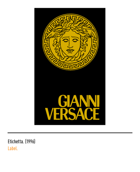 2021082ca029 The Versace logo - History and evolution