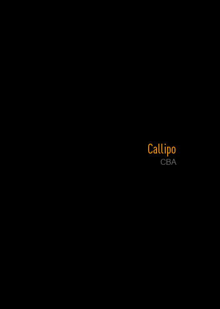 Callipo - CBA